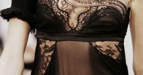 #haute couture black fashion details