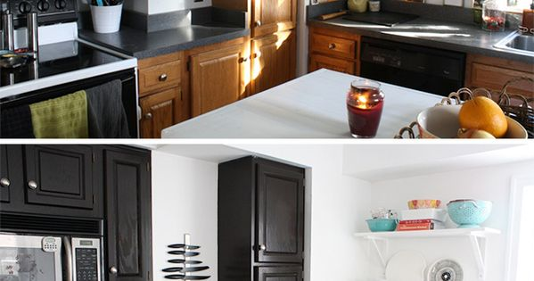 How To Use Gel Stain To Spruce Up Cabinets, Lamp Bases And