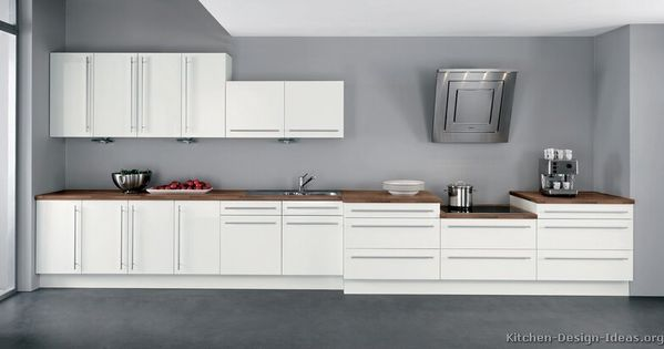 pictures of grey kitchen cabinets kitchen idea of the day modern white kitchens by alno 7458