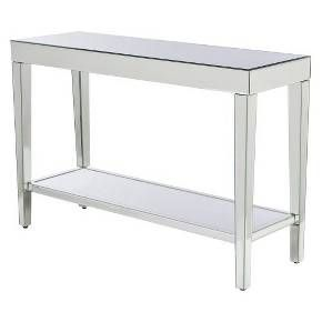 Target Mirrored Console Table Mirror Console Console Table
