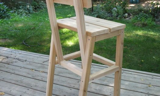 Outdoor Cedar Quot Higher Chair Quot Do It Yourself Home