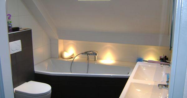 Voorbeeld van een gerealiseerde badkamer en toilet door sanidrome ijsselmuiden uit grootebroek - Tub onder dak ...