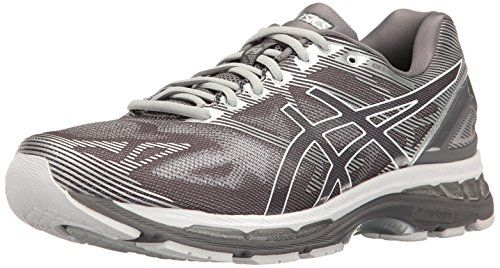ASICS Men's Gel-Nimbus 19 Running Shoe, Carbon/White/Silv... https ...