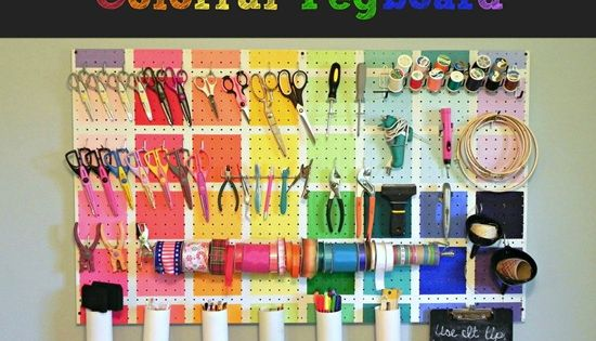 project runway inspired pegboard, cleaning tips, craft rooms, organizing