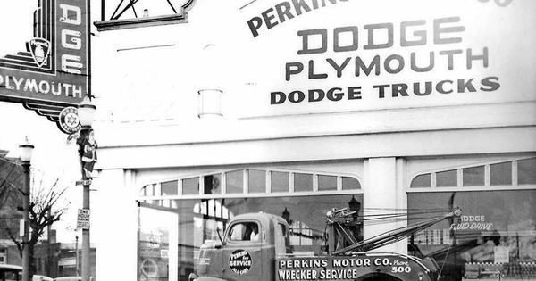 Perkins Motor Co Dodge And Plymouth Dealership