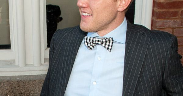 Bow tie - The Fox and the Houndstooth | Bow Tie Co. #bowtie