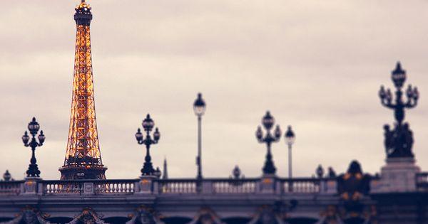 Autumn in Paris, Pont Alexandre III, Tour Eiffel