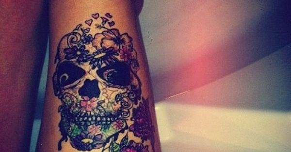 #skull sugarskull skulltattoo