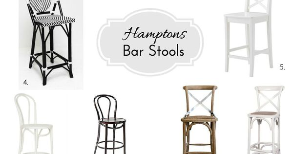 10 hamptons bar stools lovelies could and fabrics for Hampton style kitchen stools
