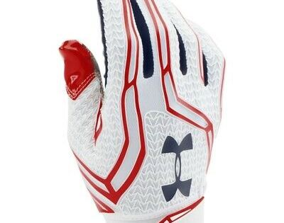 Men S Ua Under Armour Swarm Ii Pipeline State Park Football Glove 1280473 103 Ebay In 2020 Football Gloves Under Armour Mens Gloves