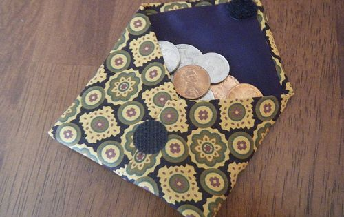 coin craft ideas coin purse from a tie craft projects i 1336