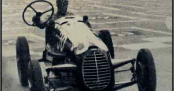 Tazio Nuvolari Le Mans Driving Without The Wheel Motion