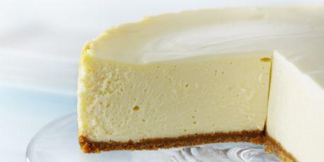 Classic New York Cheesecake Cheesecake Recipes New York Cheesecake Food Network Recipes
