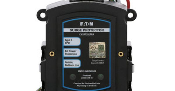 Eaton Whole House Surge Protector Chspt2ultra 1 The Home Depot Surge Protector Electrical Panel Protector