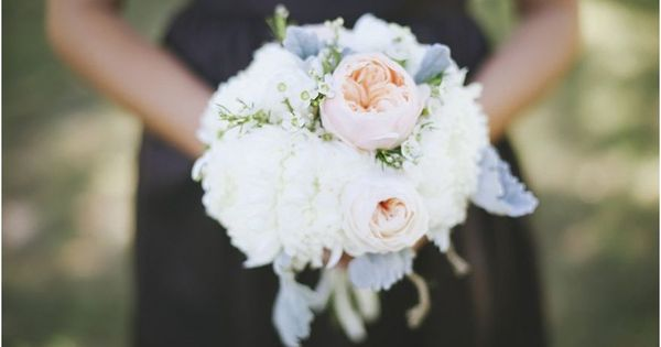 Wedding bouquet - Stunning white   pink   Tracy Enoch Photography