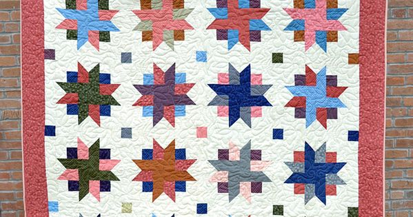 You wonot believe how easy this Ribbon Star Quilt is to make! And a free video tutorial ...