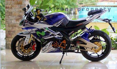 Modifikasi Yamaha R15 Konsep Movistar Sangar Motocicletas