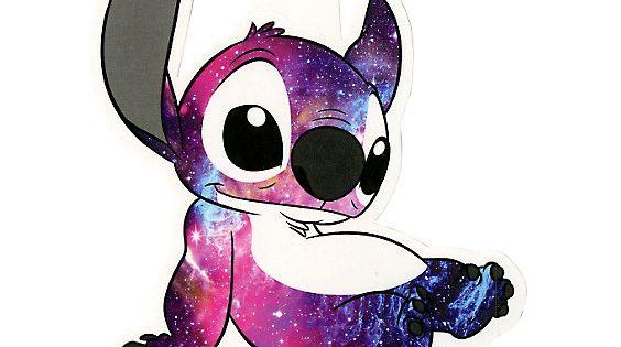 Disney Lilo & Stitch Galaxy Stitch Sticker | Lilo stitch ...