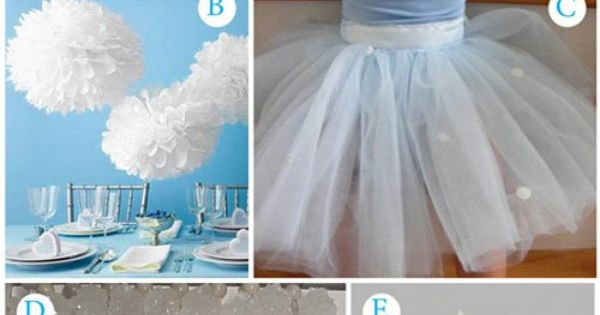 winter party so cute! Great theme for Christmas/ winter white!! Love the
