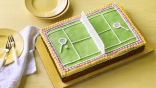 Tennis Cake Recipe Tennis Cake British Baking Food
