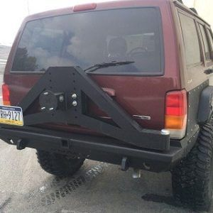 Dnd Slayer Jeep Cherokee Xj Rear Bumper With Tire Carrier Jeep Xj