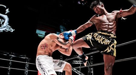 KENDO MMA Shorts Boxing Fight Grappling Kick Fight Muay Thai UFC Martial Arts