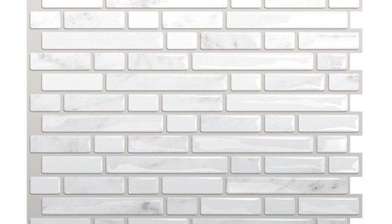 Shop Smart Tiles SM1044 Bellagio Marmo Self Adhesive Wall