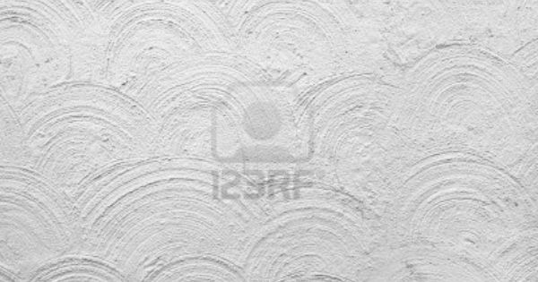 Background Of Plastered White Wall With Circular Pattern Circular Pattern White Walls Pattern