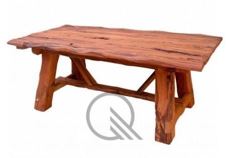 Mesa Rustica, con envejecido artesanal > Mesas de madera ...