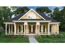 Bungalow Style House Plan 3 Beds 2 Baths 1943 Sq Ft Plan 928 191 Country House Plans Southern House Plan Cottage House Plans
