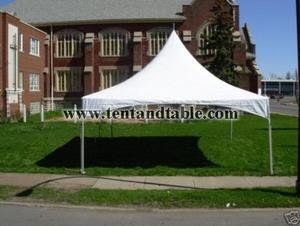 Party Tent Heavy Duty Vinyl White 10 X 20 High Peak Frame Tent Free Shipping Be Sure To Check Out This Awesome Product