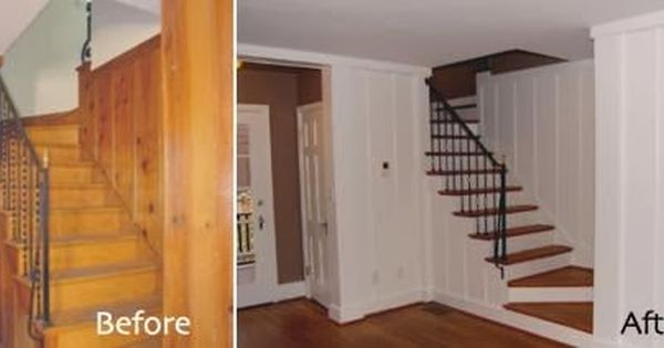 paint+wood+paneling+before+and+after.jpg (448×212) | Design | Pinterest |  Home, Products and Results - Paint+wood+paneling+before+and+after.jpg (448×212) Design