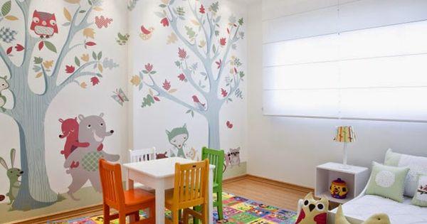 Habitaci n para ni a peque a decoraci n pinterest for Recamaras pequenas para ninos