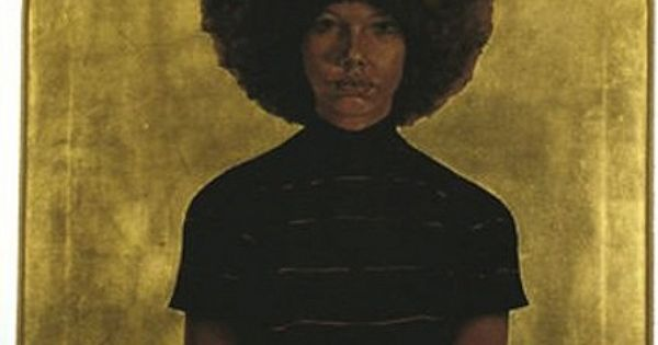 Original Art: Barkley L. Hendricks: Birth of the Cool. afro