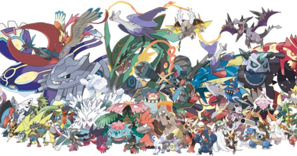 Pokemon X And Y Mega Evolution All Starters Google