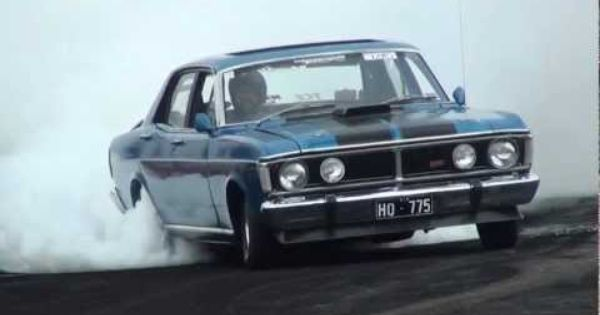 Xy Gtho Burnout Aussie Muscle Cars Ford Falcon Cool Cars