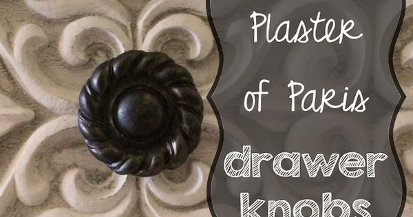 How To Make A Drawer Knob Or Pull From A Play Clay Mold