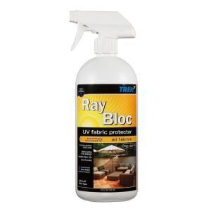 Trek7 32 Oz Ray Bloc Uv Fabric Protector Spray Rbuv32 The Home Depot Uv Fabric Spray Pest Control