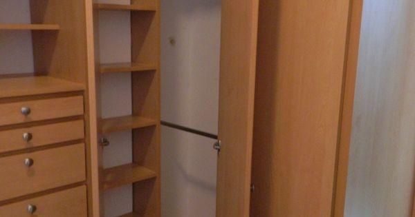Closet en esquina armario pinterest armario - Armarios en esquina ...