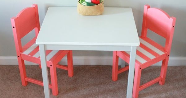 crafty lady childrens table ikea hack olivia pinterest. Black Bedroom Furniture Sets. Home Design Ideas