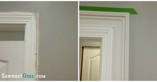 Double Layered Trim Moulding Home Pinterest Builder