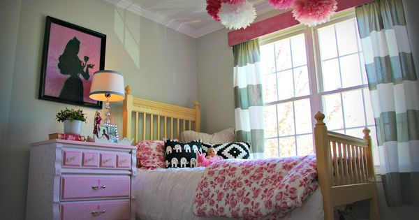 Little Pink Monster The Not Too Princess Girly Girls Bedroom Makeover Diy Home Decor