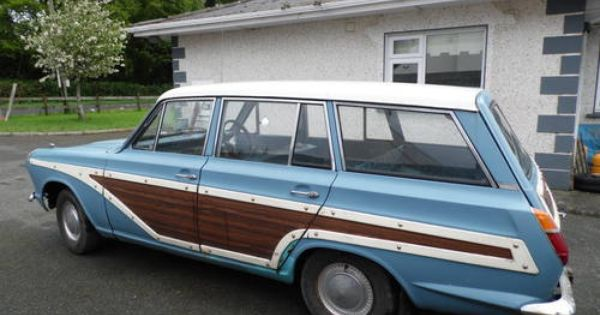 For Sale Ford Consul Cortina Mk1 Estate Super Woody 1963