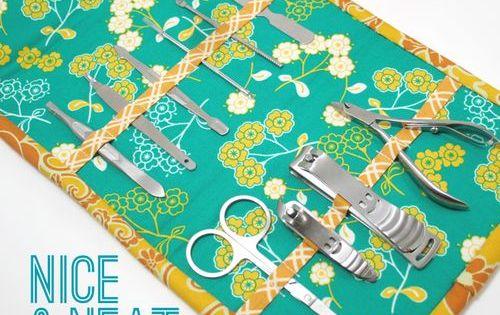 Fat Quarter Gang - Nice & Neat Manicure Kit by I Heart