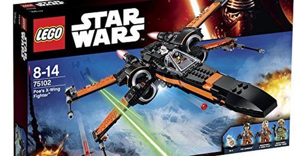 lego star wars 75102 poe 39 s x wing fighter lego. Black Bedroom Furniture Sets. Home Design Ideas