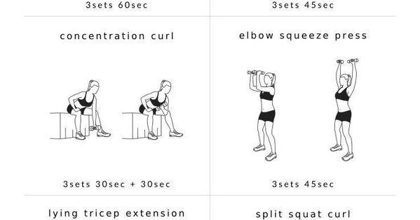 shoulders  u0026 arms workout for women