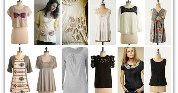 T-shirt refashion inspiration - many other refashion ideas on this blog