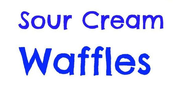 Sour cream, Waffles and The o'jays on Pinterest