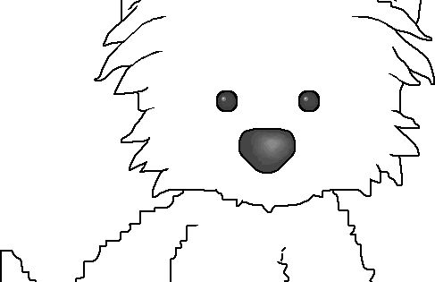 for Kipper the dog coloring pages