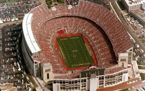 No favorite places images would be complete without the Ohio State University